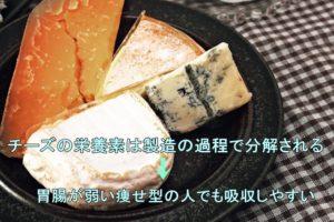 チーズの吸収性
